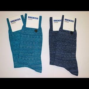 2 pair Men's Birkenstock socks